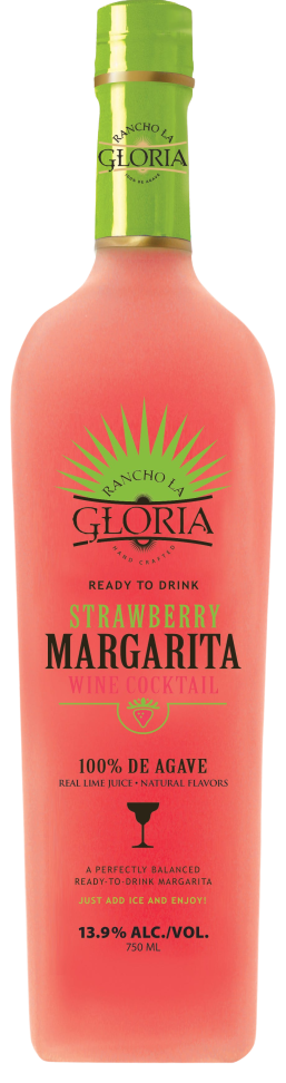 Rancho La Gloria Strawberry Margarita 1 5 L Wine Online Delivery