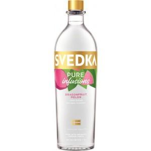 Svedka Dragonfruit Melon Flavored Vodka Pure Infusions 60 750 ML